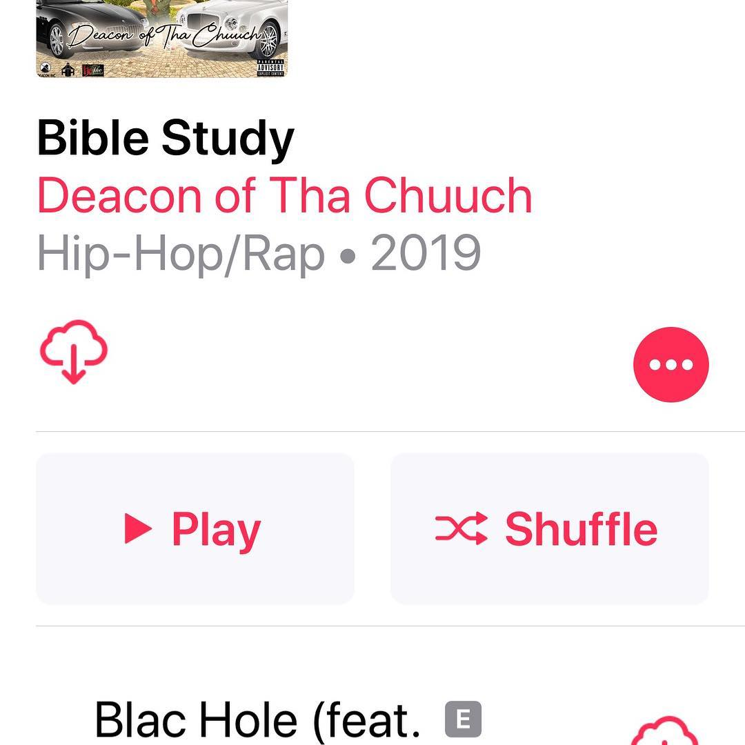 Out now Bible Study from ya Harmony Howse collective - Layzie Bone