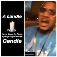 Keep them candles LIT, support is the main thang - Layzie Bone