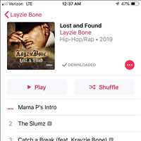 Lost & found out now, go get it - Layzie Bone