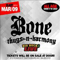 Big Buck Live March 9th Bone Thugs N Harmony - Layzie Gear