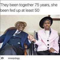 She's been fed up for 50+ years, but they're still together - Layzie Bone