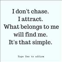 I'm not one to chase, what finds me is meant to be - Layzie Bone