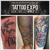 Check out my boy if you're at the tattoo expo in NY - Layzie Bone