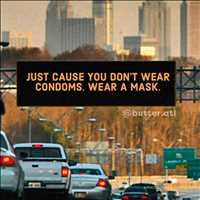 Wear your masks folks, best way to stay safe from the city to the hood - Layzie Bone