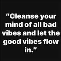 Cleanse the minds and let the good vibes flow through you - Layzie Bone
