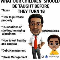 What our children SHOULD be taught before they turn 18 - Layzie Bone