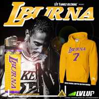 Lit Tunez Global coming in with the limited edition LBURNA hoodie fam - Layzie Bone
