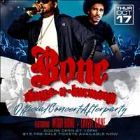 October 17th, the OFFICIAL BTNH After Party, see you there with Wish Bone - Layzie Bone