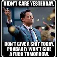 SO true!! Didn't care yesterday, won't care tomorrow! - Layzie Bone