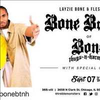 Tomorrow! Bone Brothers coming to Chicago get some