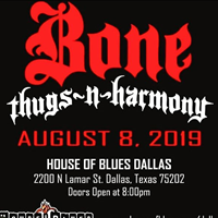 Bone Thugs n Harmony it's going down at the House of Blues! Layzie Bone