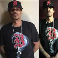 Rolling in my favorite Bone Thugs hat, available at LayzieGear.com, holla - Layzie Bone