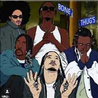 Five true Thugs from the double Glock - Bone Thugs n Harmony - Layzie Bone