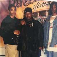 Throwback HARD to the 90's, Krayzie and I hustlin like G's - Layzie Bone