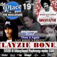 Layzie Bone at The Place in Vegas, come to that meet and greet!