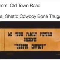 Old Town Road that Ghetto Cowboy throwback - Layzie Bone