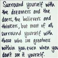 Surround yourself with dreamers and doers, get it done - Layzie Bone