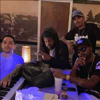 Studio workflow with the bois, legends the lot of them - Layzie Bone
