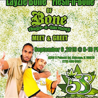 Come out and kick it with Bone Thugs n Harmony - Layzie Bone