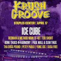 Krush Groove at the Staples Center with Ice Cube and your boy Layzie Bone