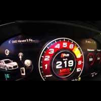 2017 AUDI R8 V10 Dashboard