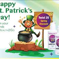 St Pattys Day Twist 25 DHEA Cream