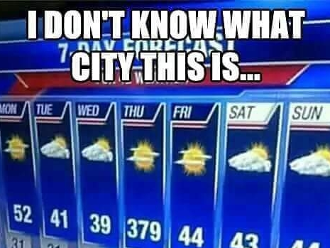 Thursday will be rough