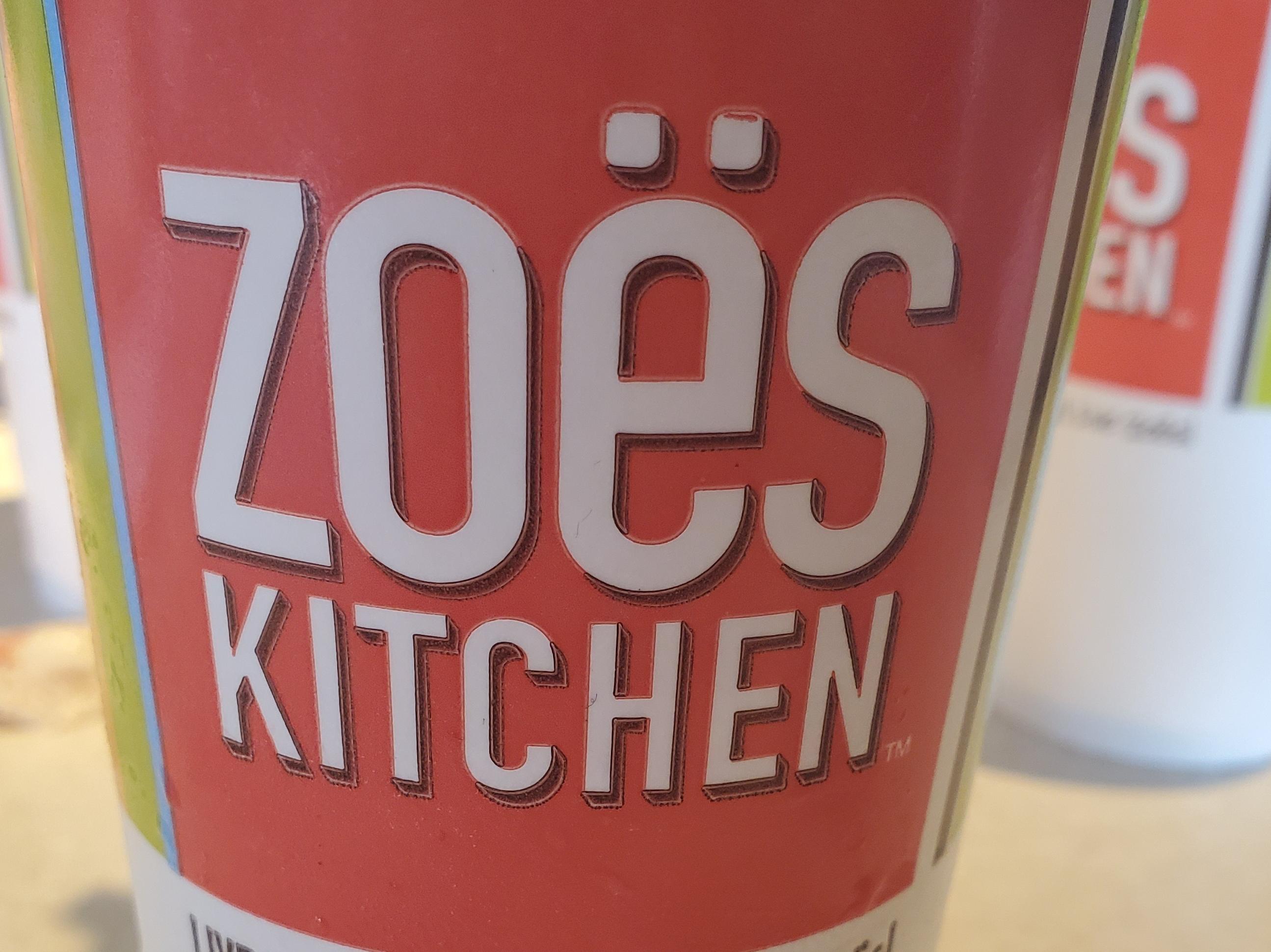 Haveing lunch at Zoës Kitchen