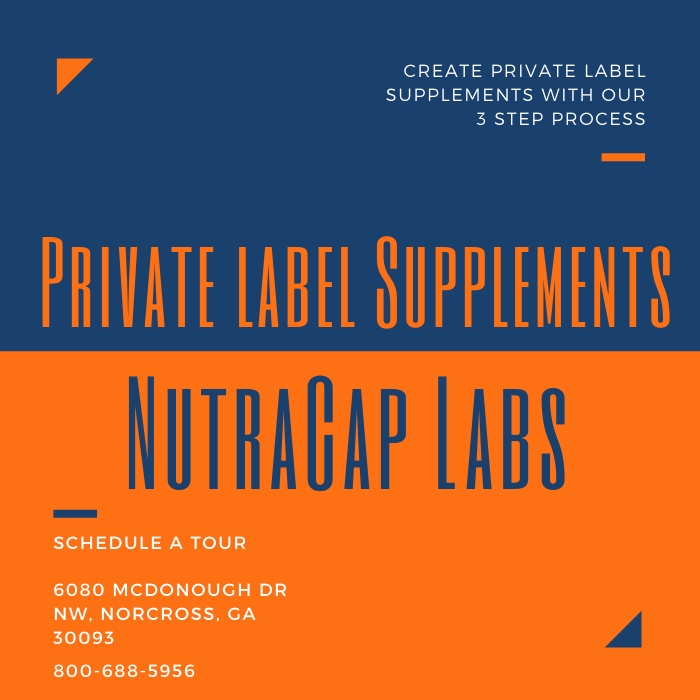 Custom Supplement Formulation Services Private Labeling NutraCap Labs 800-688-5956