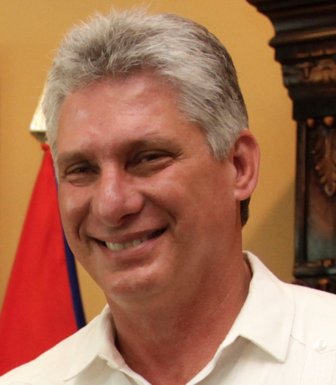 Miguel Mario Diaz-Canel Bermudez Become President of Cuba Photo:Wikicommons, Stalin990, No Change