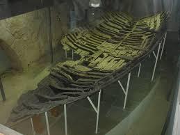 Old Shipwreck Display