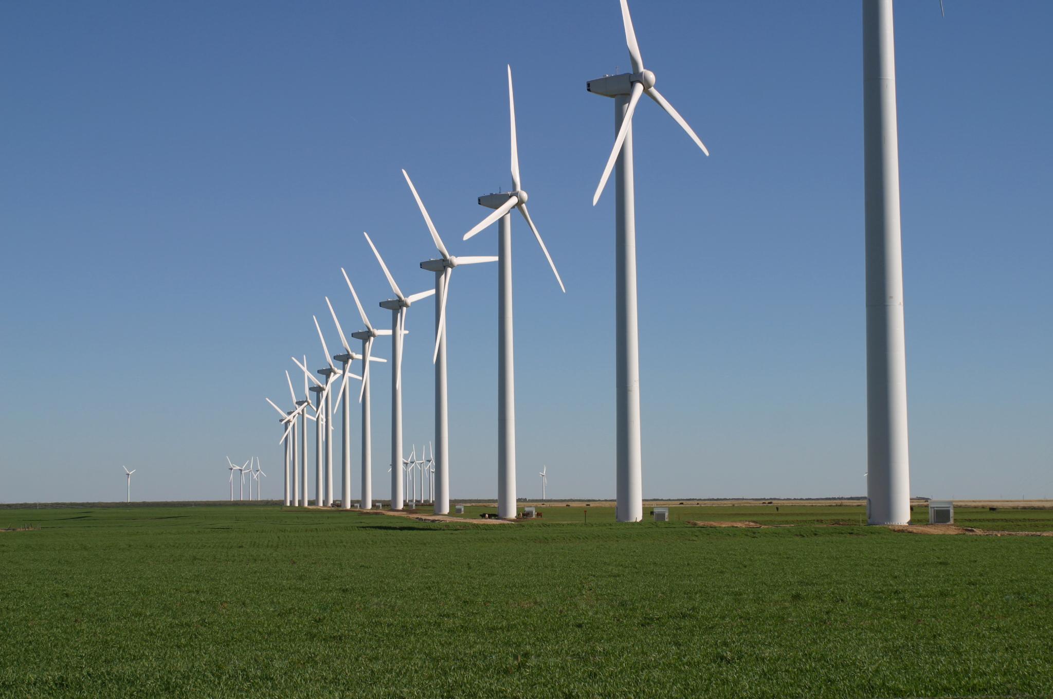 Wind Turbines Clean Energy