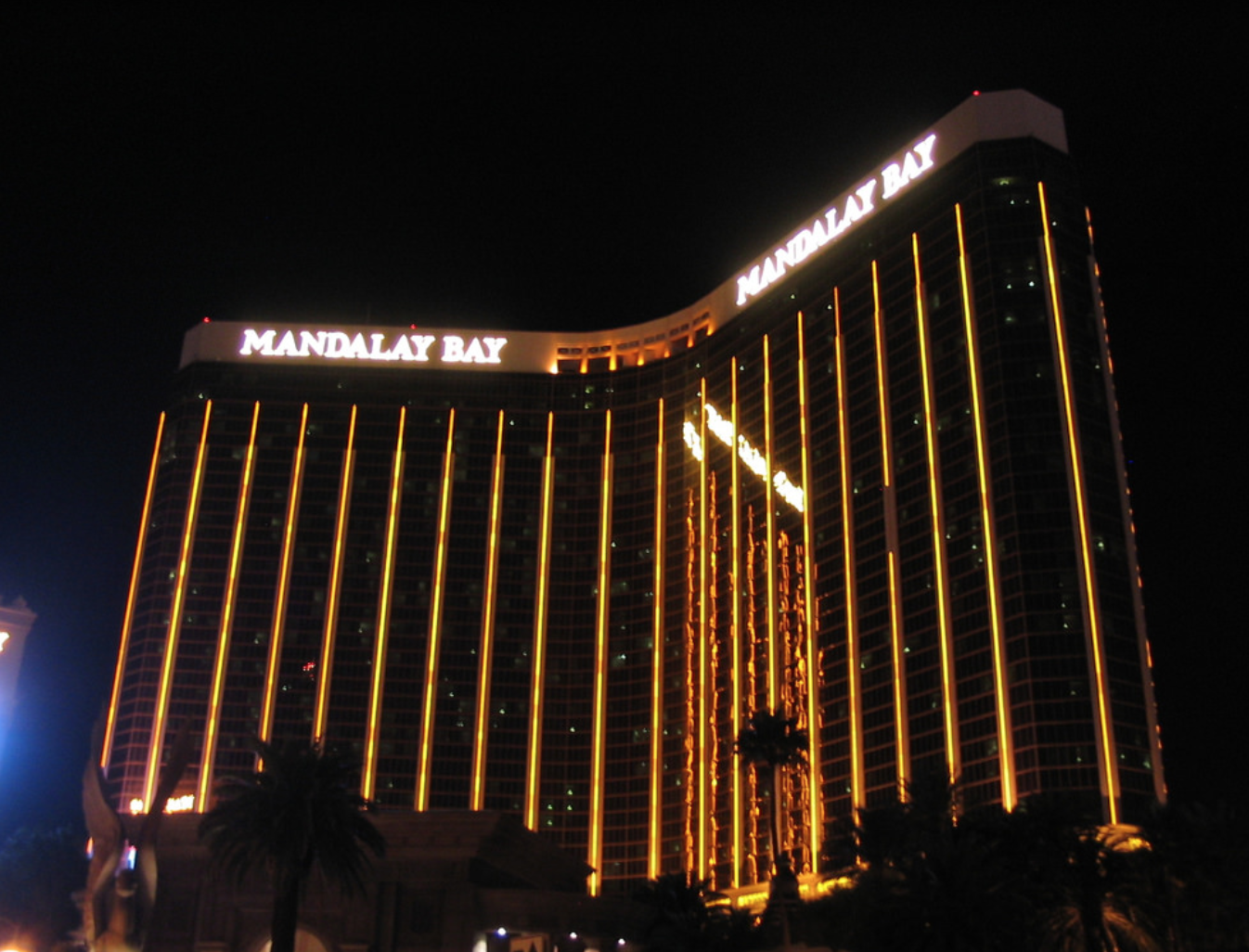 Mandalay Bay Shooting At Route 91 Harvest Festival October 1 Photo: Ken Lund, Flickr, No Change