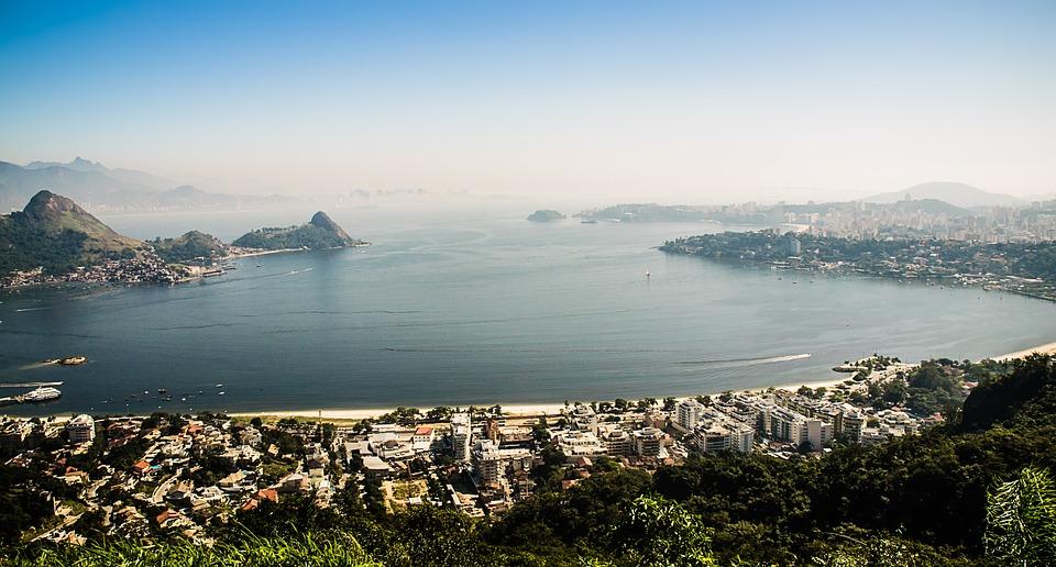 Bay in Rio De Janeiro