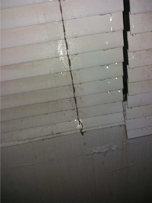 Water Coming Through Windows Puerto Rico Hurricane Irma Photo: Rachel Gikas, Resident, Condado