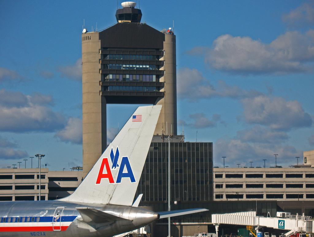 Photo Credit; Flickr User Mr.TinDC Of Boston Logan Airport Control Tower