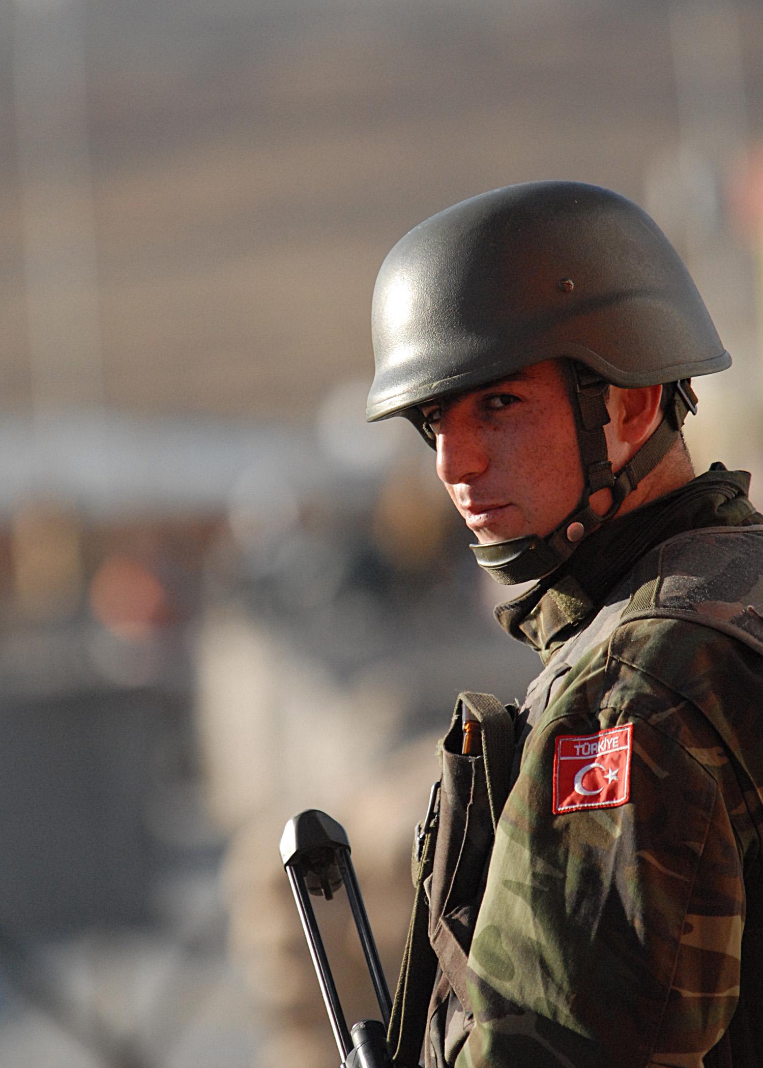 Turkish ISAF soldier