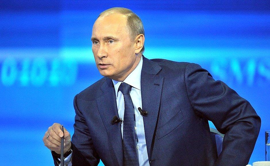 Russia President Putin