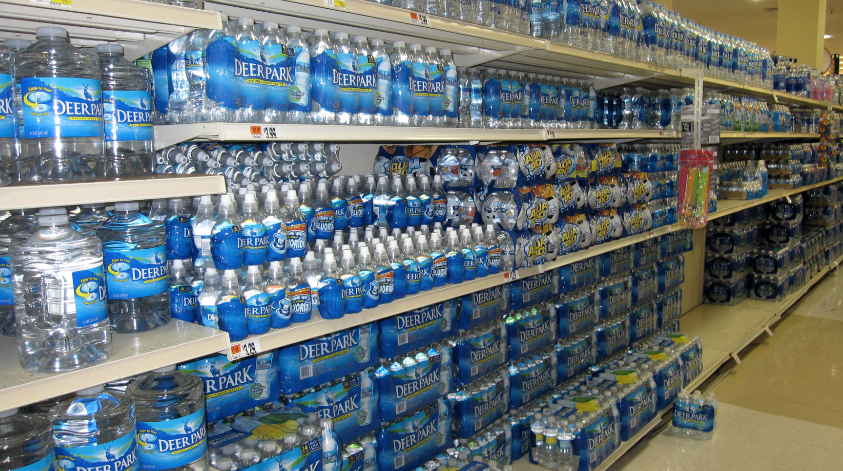 Prepare For Hurricane Irma Stock Up On Supplies Photo: Ivy Main, WikiCommons, No Change