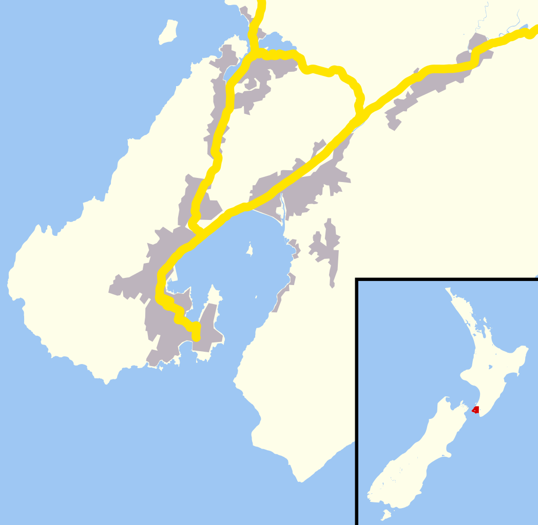 Wellington New Zealand Area
