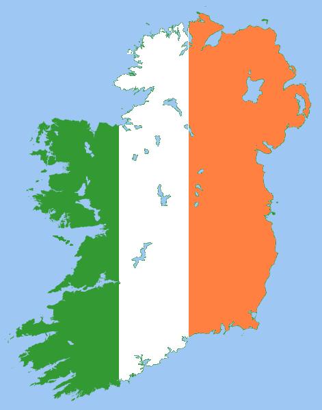 Ireland Island Flag