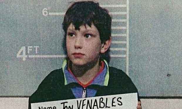Jon Venables aged 10 after the murder of two year old James Bulger