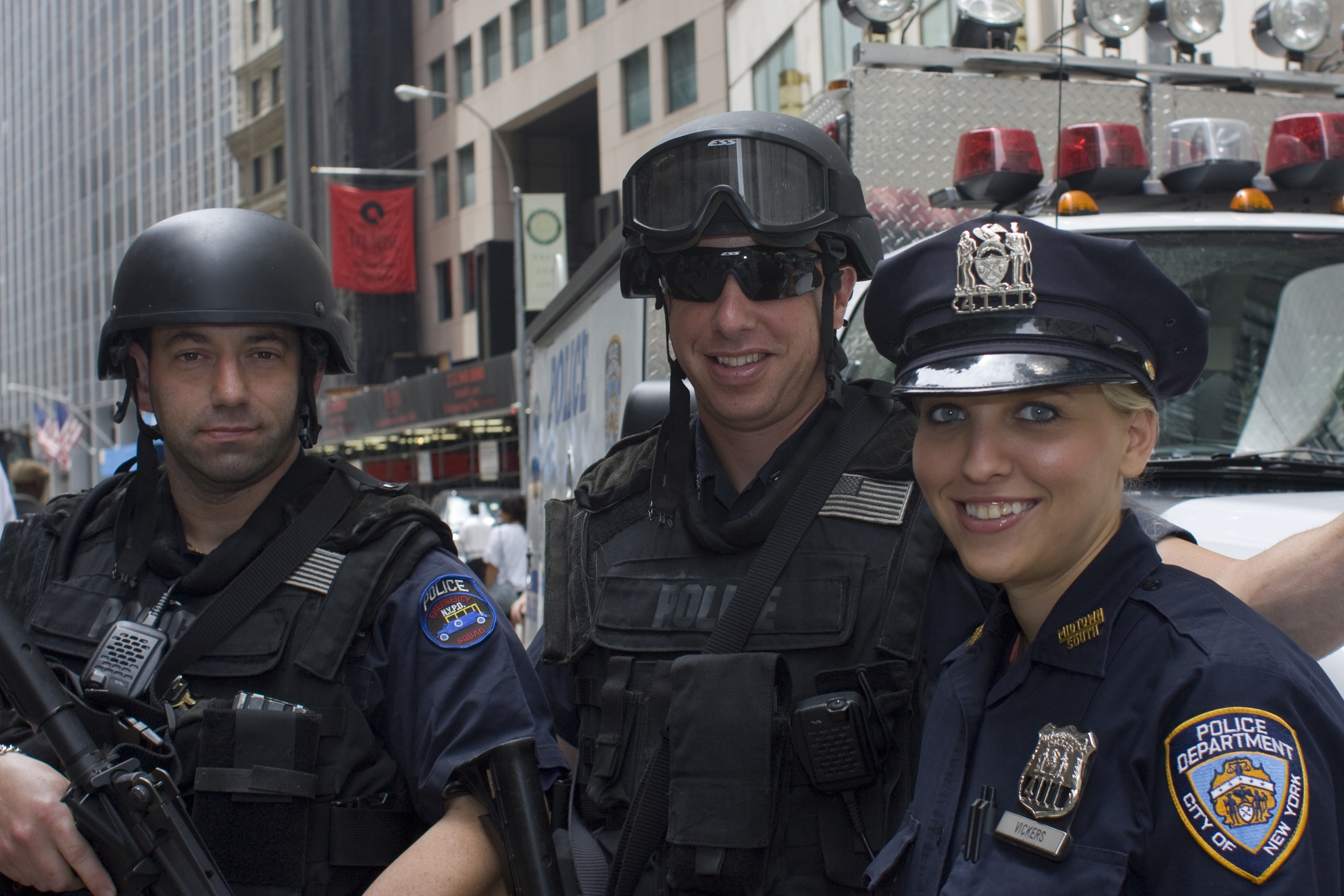 US Police Officers