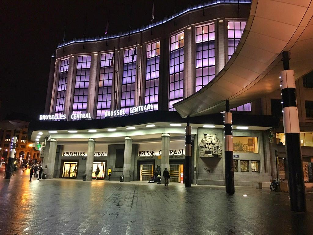 Central Station Brussels Train Station