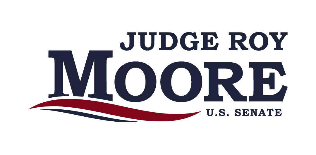 2017 Judge Roy Moore Senate Campaign Logo, Photo Credit Roymoore.org