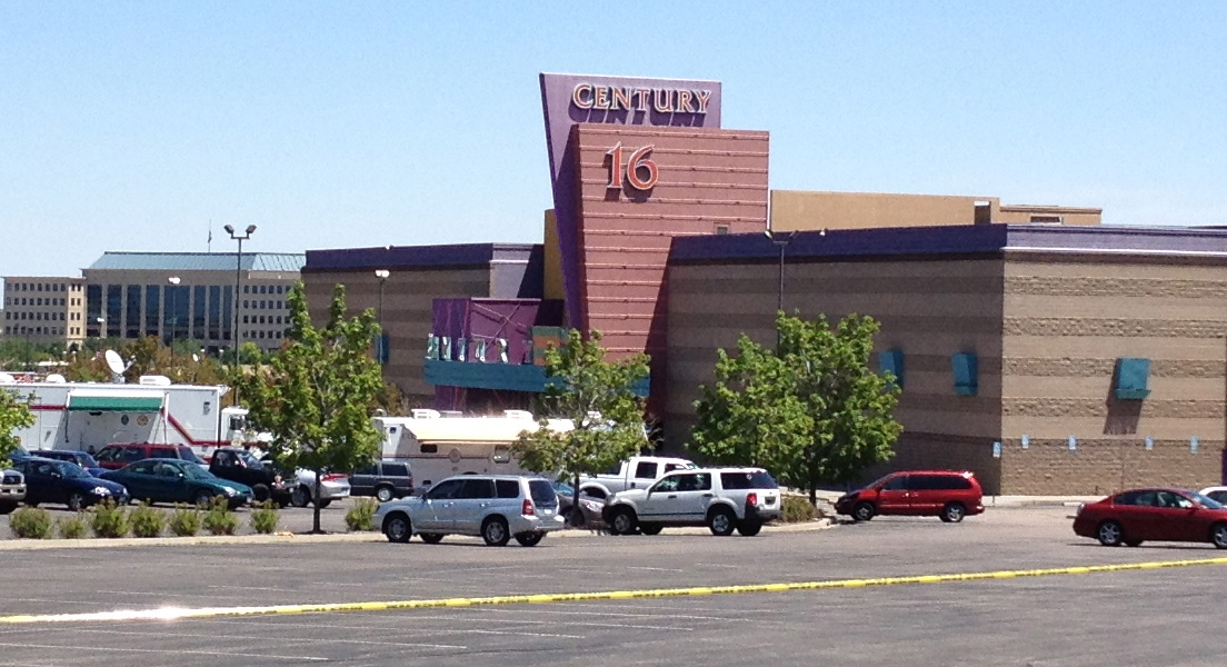 Scene of Aurora Colorado Shooting