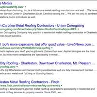 Titan Roofing Indexing Under Charleston Metal Roofing Contractors