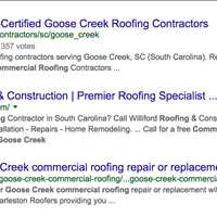 TItan Roofing LLC Indexing In Outside Search Engines In The Area They Provide Services
