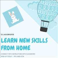 Online Virtual Direcetory Instructors Classworx Zoom Classes 470-448-4734