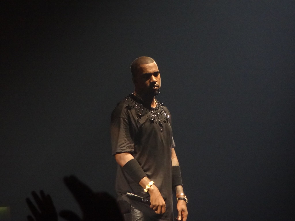 Kanye West who's new album Jesus is King just dropped.